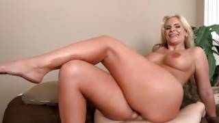 Light-haired hottie with massive breast is killing her bf with her want to sex PORN HD