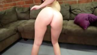 Attractive pornstar persuades a guy spunkflow with her hands