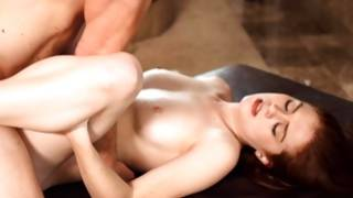 Charming taut tittied bitch is fucked horny